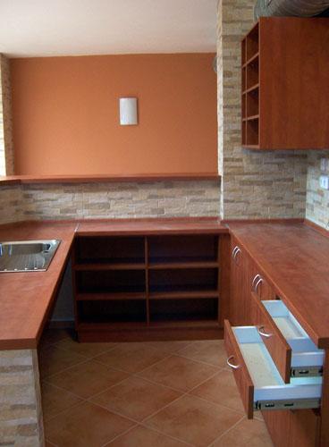 Kuchyně na míru, příklad 004