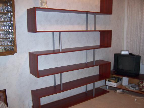 Obývací pokoje a stěny, příklad 007